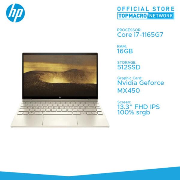 HP ENVY 13-ba1011TX (i7-1165G7/16GB/512GB/Nvidia GeForce MX450 2GB/Pale gold/2yr) Malaysia