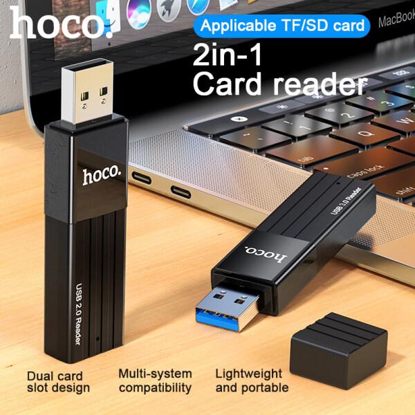 Bảng giá Đầu Đọc Thẻ SD 2 Trong 1 HOCO HB20 Bộ Chuyển Đổi Thẻ Nhớ OTG USB3.0/ 2.0 Phong Vũ