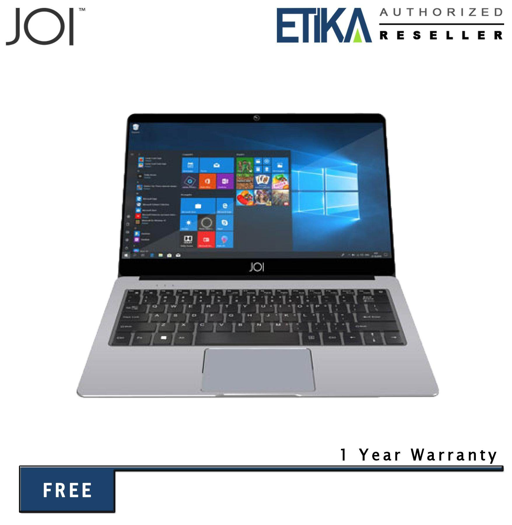 JOI Book 80 12.5 FHD Silver Laptop (Cel N3350/ 4GB/ 64GB/ Intel Graphics/ W10) Malaysia