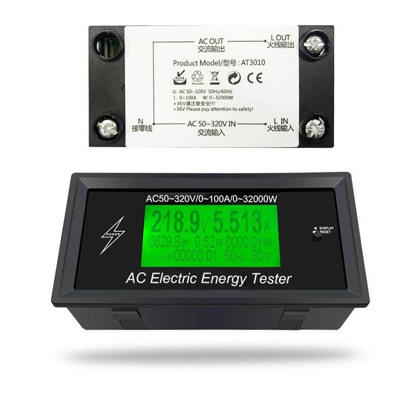 AT3010 AC50 ~ 320 V 100A 3KKW Ứng Dụng Điện Thoại AC Mét Kỹ Thuật Số Điện Áp Mét Đèn báo Điện Đồng Hồ Năng Lượng Khuếch dòng điện Ampe Volt Wattmeter Thử-Phiên Bản Tiêu Chuẩn/Phiên Bản bluetooth