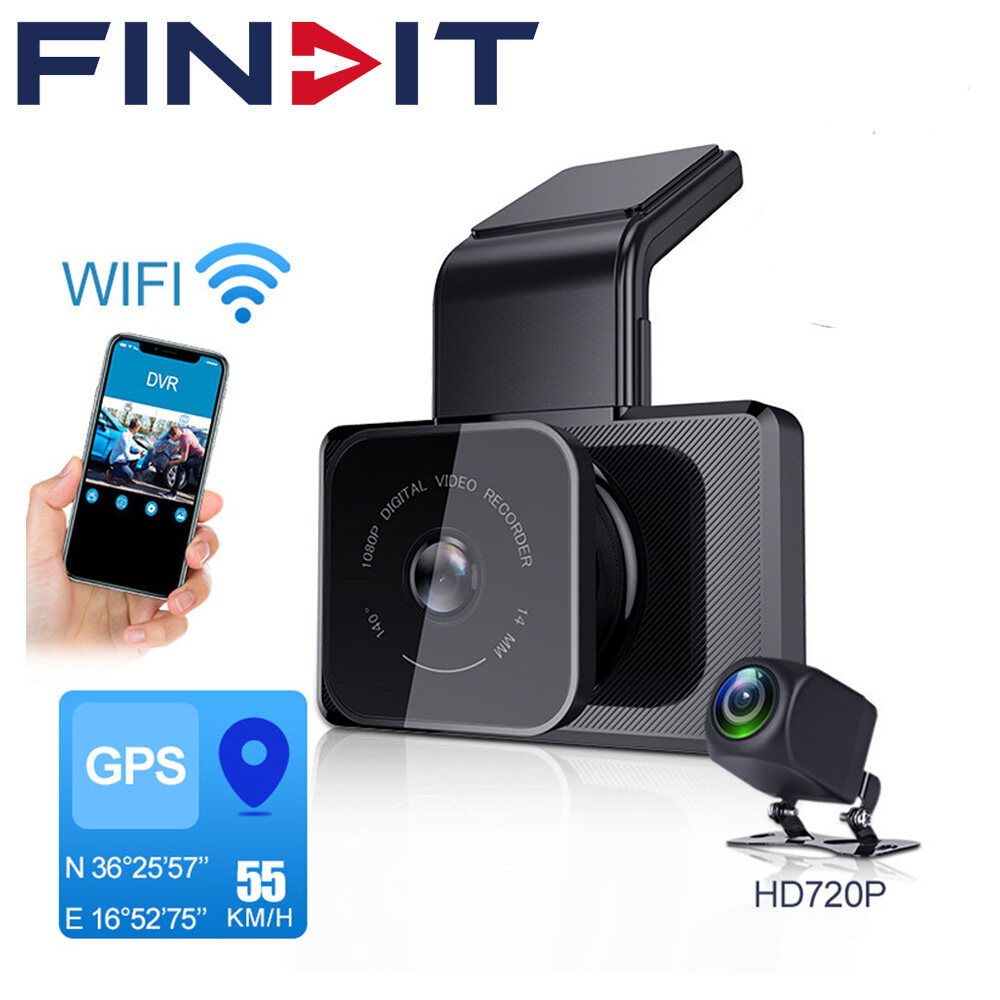 Wifi HD Car Dashboard DVR Camera Video Recorder Dash Cam G-Sensor Night Vision H
