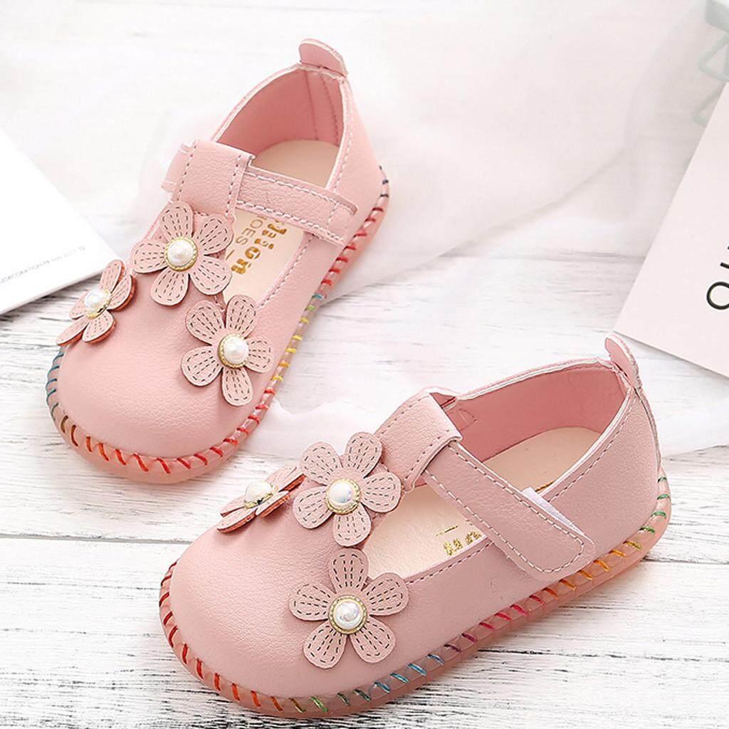Giá bán Bé Gái Giày CNB2C Bán Bé Gái Ngắn Giày Công Chúa Mùa Thu Tập Đi Cho Trẻ Sơ Sinh Trẻ Em Bé Hoa Giày