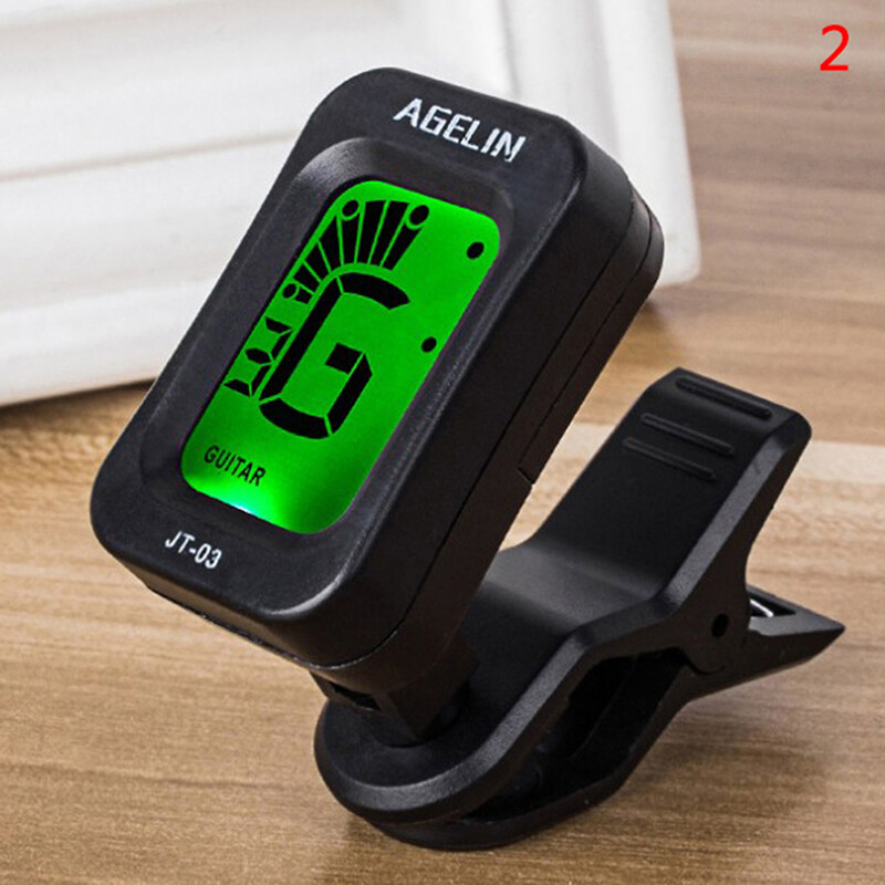 Ditur Acoustic Guitar Tuner For ukulele tuner Digital Clip-on Electric Tuner Violin Malaysia