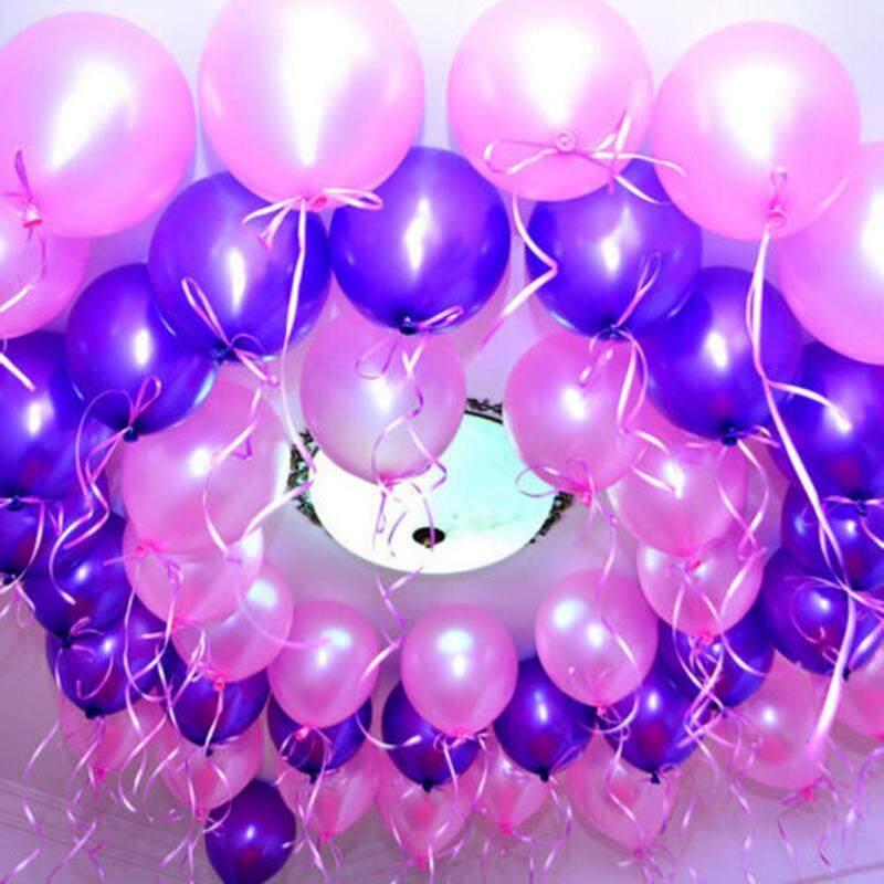 Balloon 100Pcs Colorful Latex Birthday 10 inch Celebration Party Wedding Pearl