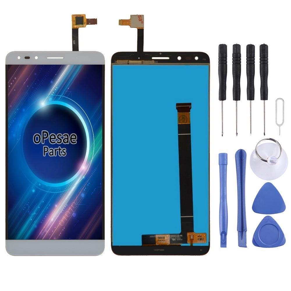 Layar LCD dan Digitizer Penuh Perakitan untuk Alcatel Pop 4 7070/OT-7070/OT7070/7070X/7070Q/7070A /7070I (Perak)