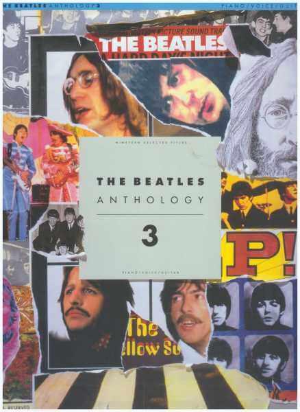 The Beatles Anthology 3 / PVG Book / Piano Book / Pop Song Book / Vocal Book / Voice Book / Guitar Book / Gitar Book Malaysia