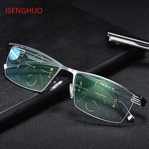 Giá bán Chất Lượng Cao Có Thể Điều Chỉnh Tầm Nhìn Chuyển Đổi Hai Tiêu Cự Photochromic Kính Đọc Sách Tiến Bộ Kính Mắt Đa Tiêu UV400 Sun Glasse Leo Núi
