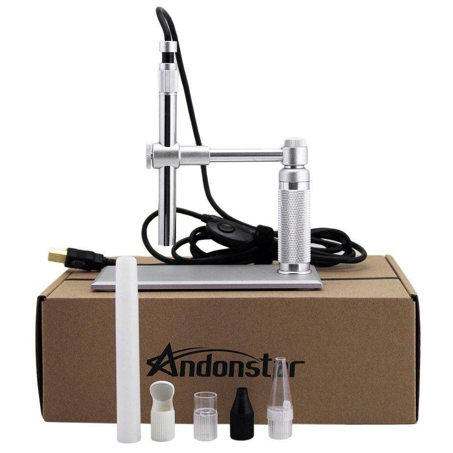 Hot Sale Andonstar 500x USB HD Digital Electronic Microscope Electronic Magnifier 8LED Endoscope For Circuit Board Maintenance Tool