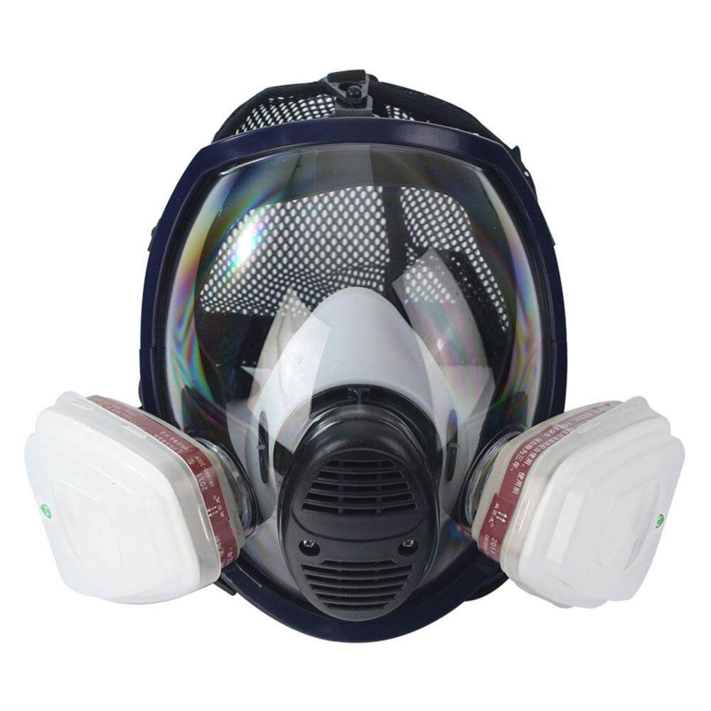 Teepao 1Painting Spraying Full Face Gas Chemical Mask Respirator, Dust Mask, FDA Tested, Filters Included