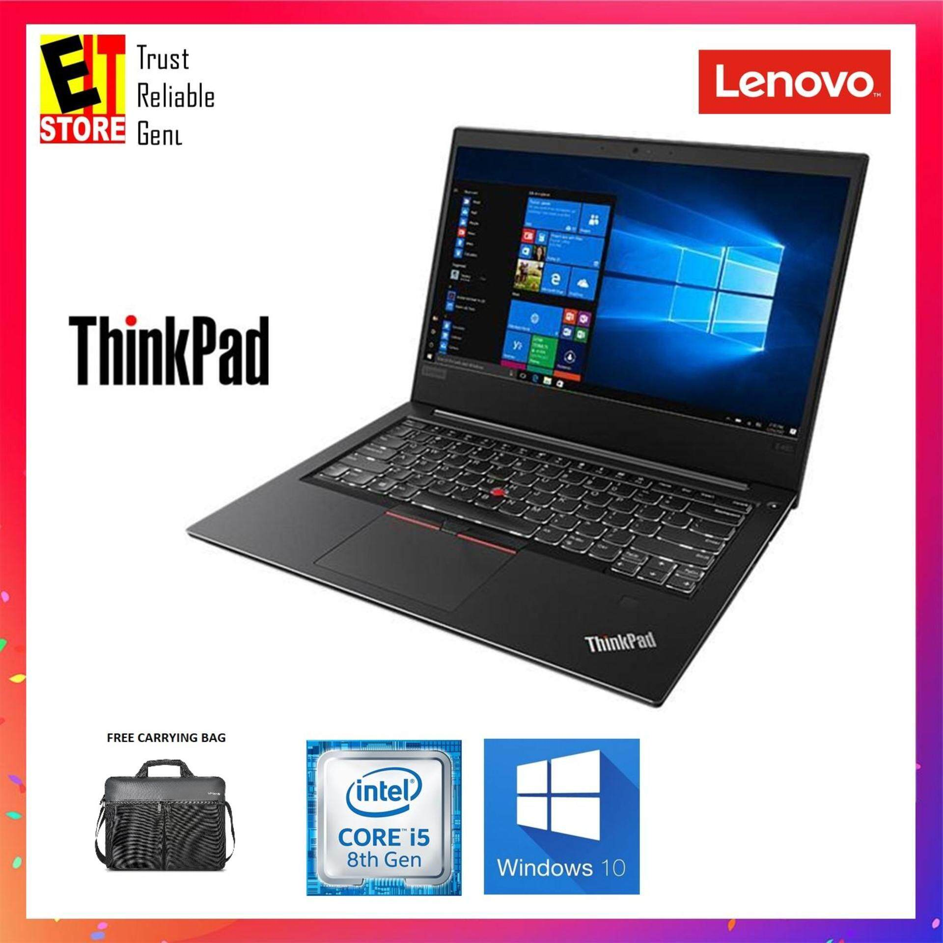 LENOVO THINKPAD E480 20KNS0MM00 (I5-8250U/8GB/1TB/INTEL/14 HD/W10/1YR) +FREE BAG Malaysia