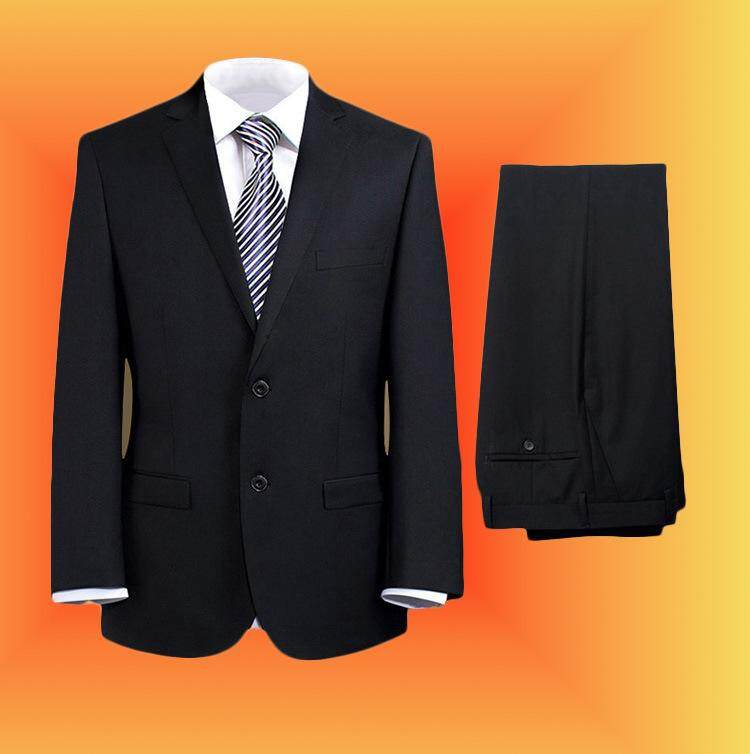 Mens 2 Pieces Blazers Pants Suit Two Buttons Business Suit S-4xl By Yangs House.