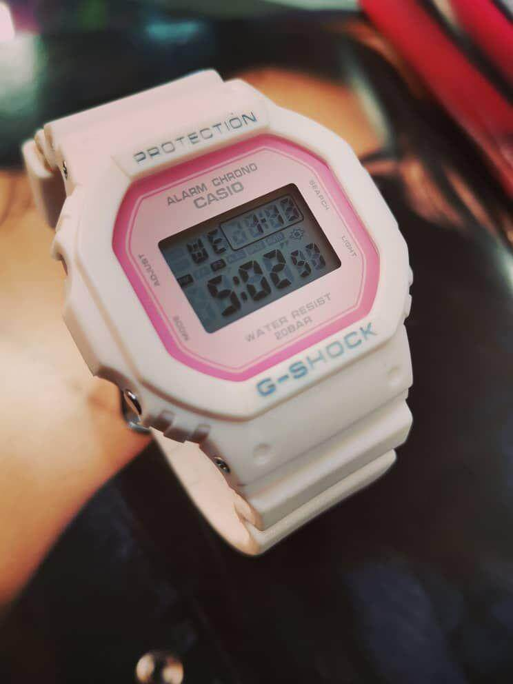 G   -   SHOCK DW 5600 PINK NEW Malaysia