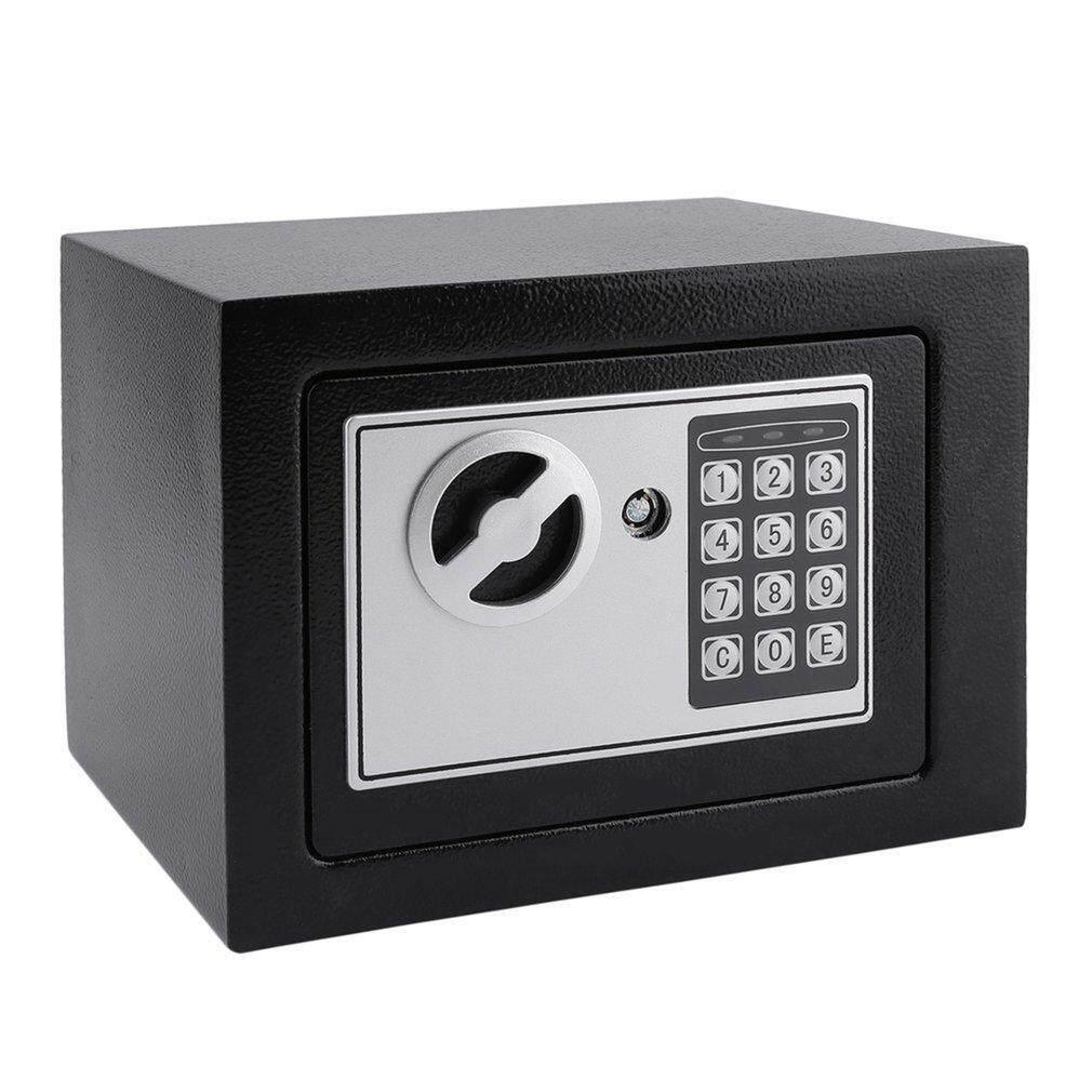 ANEXT Electronic Safe Box With Digital Keypad Lock 4.6L Mini Jewelry Storage Case