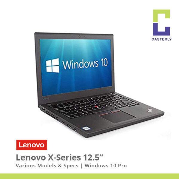 (Refurbished) Various Lenovo 12.5 ThinkPad X-Series X240 X250 X260 X270 Laptops 4th-8th Gen/Webcam/W10 Pro/1M Warranty Malaysia