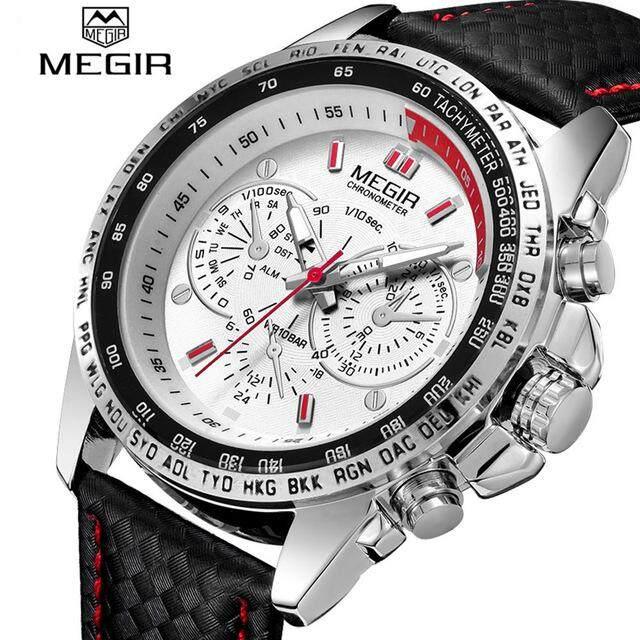 MEGIR Mens Fashion Watch Top Brand Luxury Quartz Watch Mens Fashion Casual Luminous Waterproof Clock Relogio Masculino Malaysia