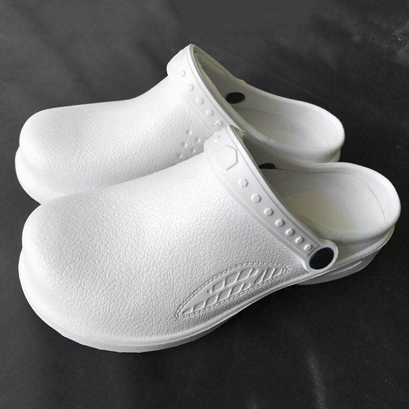 Chef Shoes Women Men Cook Clogs Safety Antislip Kitchen Shoes Sandals Black By Ishowmall.