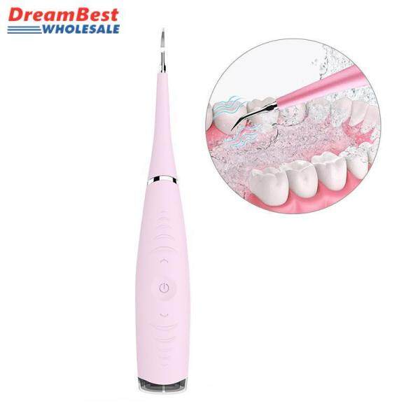 Buy ❤️ Dream Best Tartar Remover, Portable USB Electric Tooth Cleaner, Ultrasonic Scaler Plaque Remover Dental Calculus Personal Household Dental Care Teeth Polishing Tool Stain Eraser Singapore