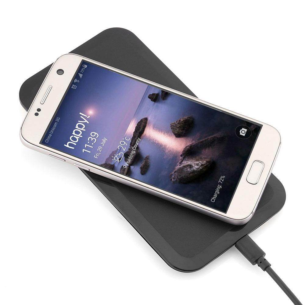 Universal Portable Qi Wireless Power Charging Pad For Samsung Galaxy S6 / S6 Edge / S6 Edge+ By My Outdoor Online.