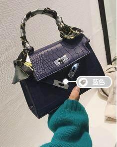 Cross-body Bag Silk Scarf Fashion Handbag Kelly Bag