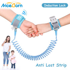 NiceBorn Baby Harnesses Anti Lost Strap Safety Harness Luminous Strap Rope Leash Baby Walkers Wrestling Rope Elastic Handle Anti-lost Belt for 1-10 Years Children