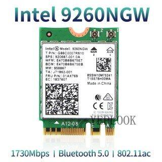 Wireless-AC 9260 9260NGW 9260AC 1.73Gbps 1730Mbps + 300Mbps Băng Tần Kép 2.4G 5Ghz NGFF M.2 MU-MIMO 802.11ac Wifi + Bluetooth 5.0 Thẻ Không Dây Windows 10 FRU 01AX769 SPS 920687-001 thumbnail