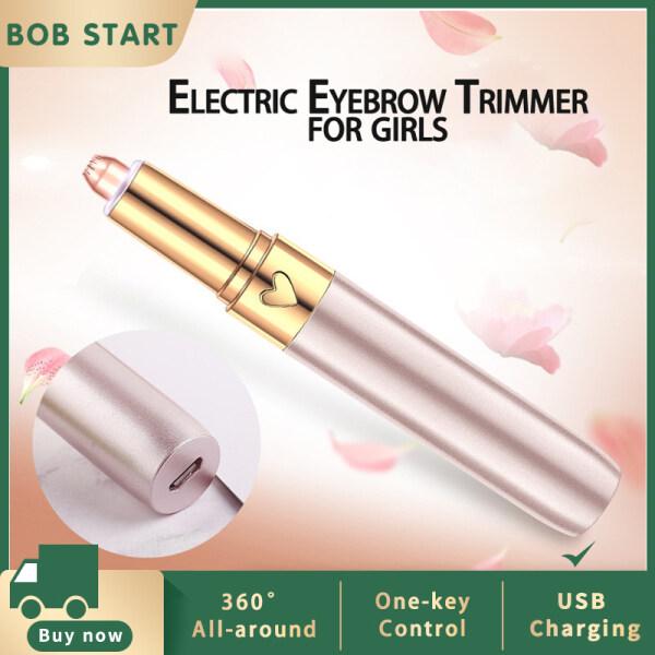 【BOB】Electric Lông Mày Tông Đơ Có Thể Sạc Lại Máy Cạo Râu Cho Tất Cả Các Bộ Phận Cơ Thể Trong Bút Kích Thước Cho Cả Nam Và Nữ cao cấp