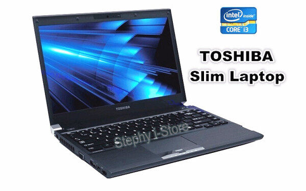 Toshiba Slim Laptop notebook , Intel Core i3 , 4GB or 8GB RAM , 120GB ~ 500GB HDD SSD , 13.3inch  (Refurbished) Malaysia