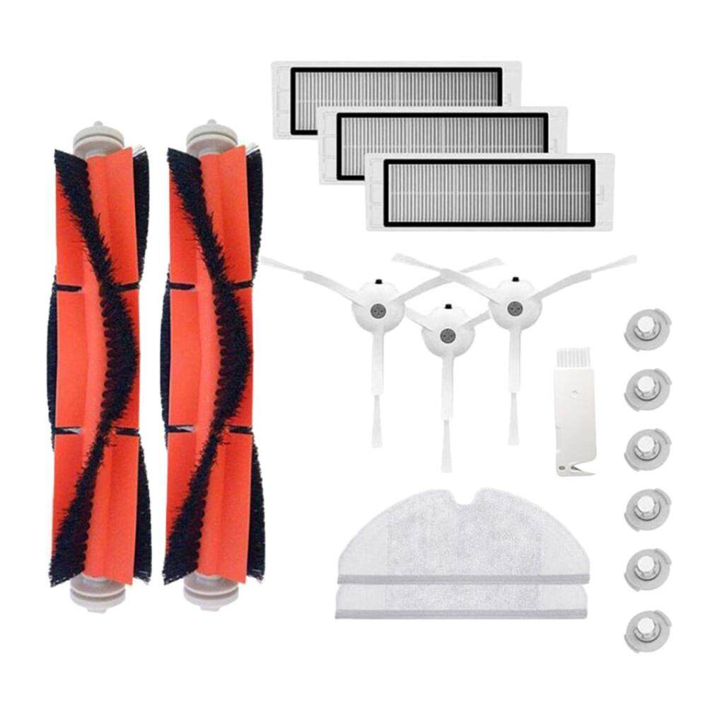 Loviver 17PCS Replacement Set Roborock Vacuum Gen 2 Brushes Strainers Filters Combo