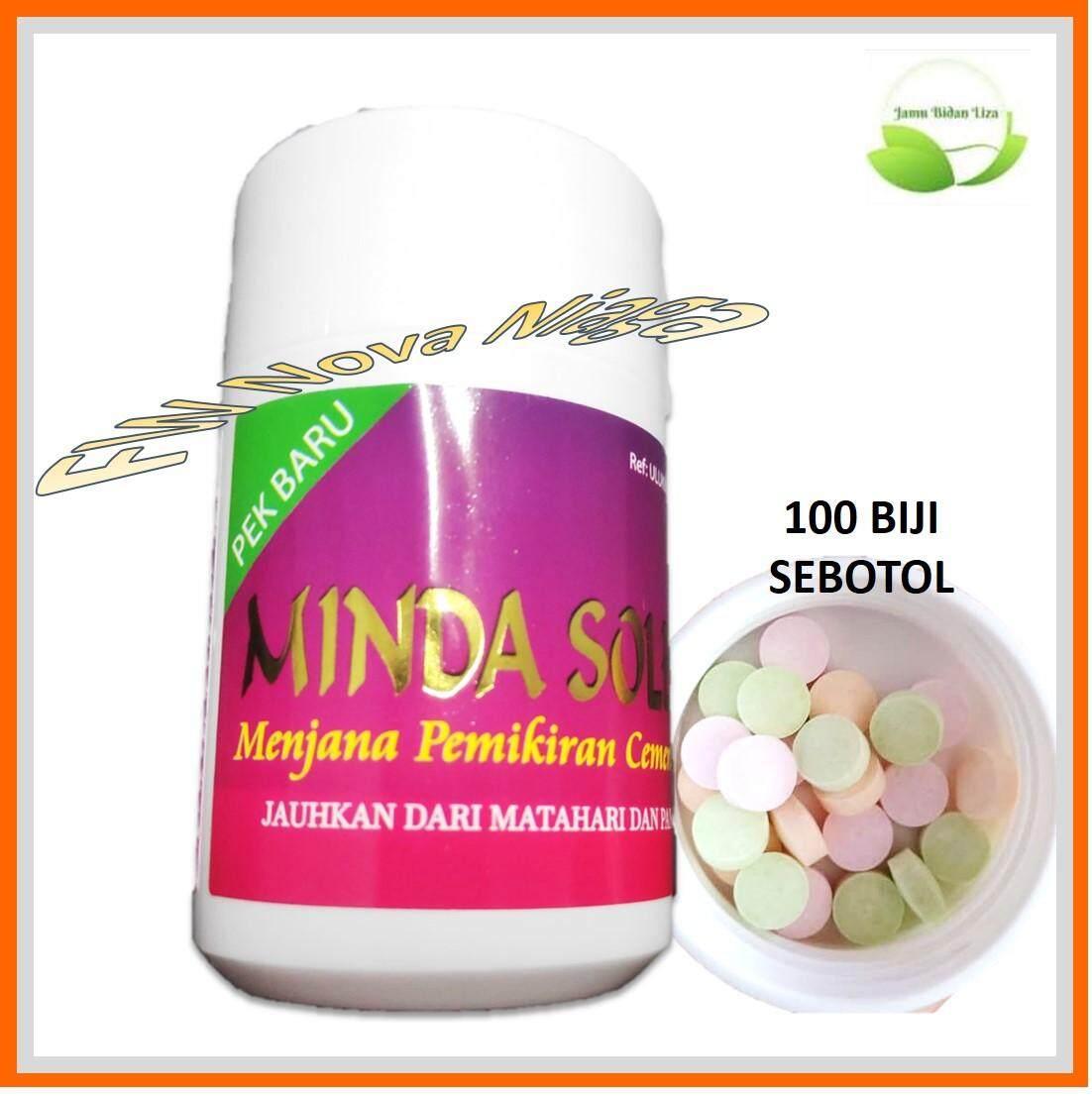 Minda Soleh IQ Booster 100 Biji (Homeopati Halal) Anak Rajin, Bijak dan  Mendengar Kata