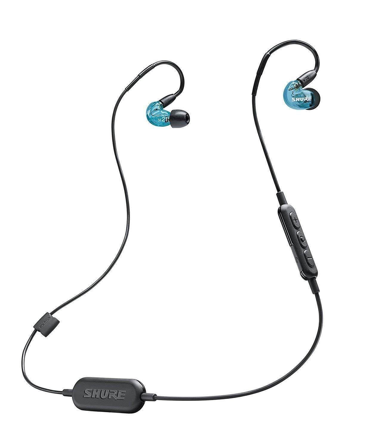 5adc31632c2 Shure SE215 Wireless Sound Isolating Earphones with Bluetooth Enabled  Communication Cable