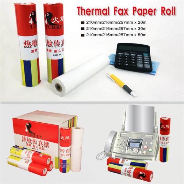 Mua 2 Cuộn Giấy Fax Nhiệt 210Mm X 30M Máy Cuộn Giấy Sharp /Panasonic