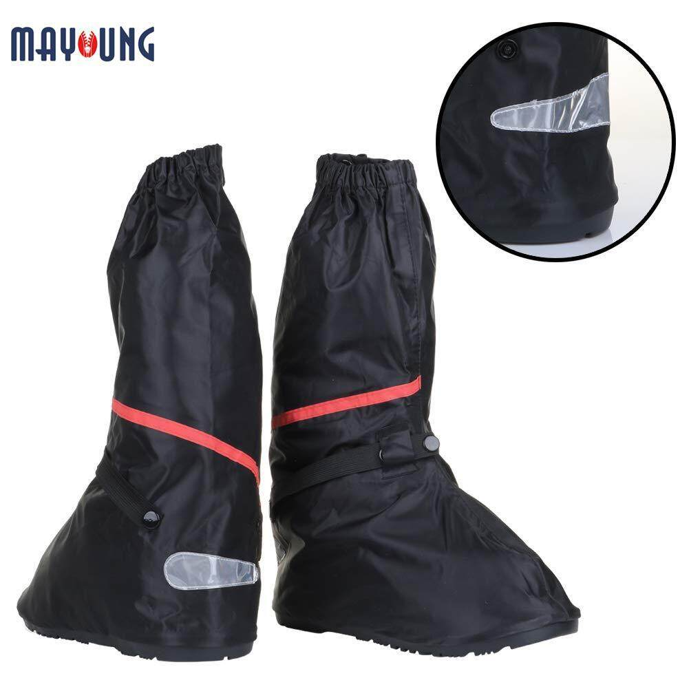 Mayoung Women Men Shoes Cover Waterproof Thicken Non-Slip High Shoes Cover for Outdoor Travel image