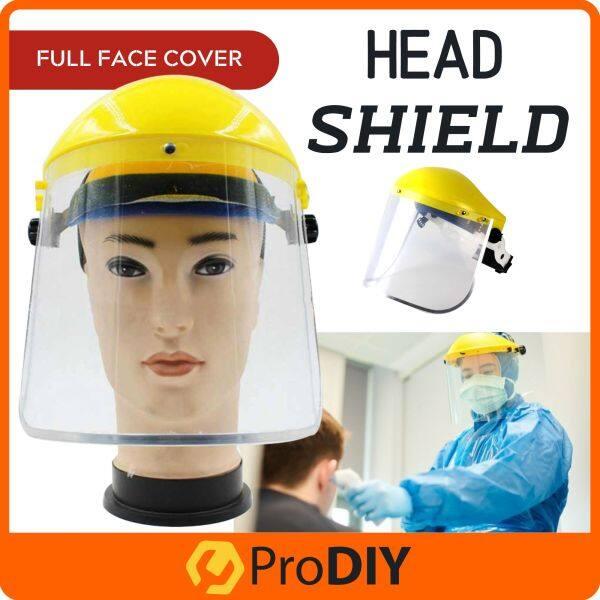 Clear Safety Face Mask Shield Safety Eye Protection Face Cover Visor Penutup Muka Jernih