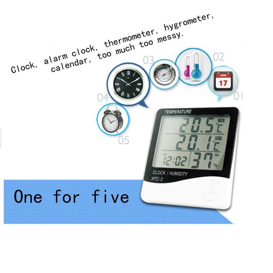 Cfb Akuarium Kulkas Suhu Dan Kelembapan Monitor Lcd Termometer Digital By Cheerforbuy11.