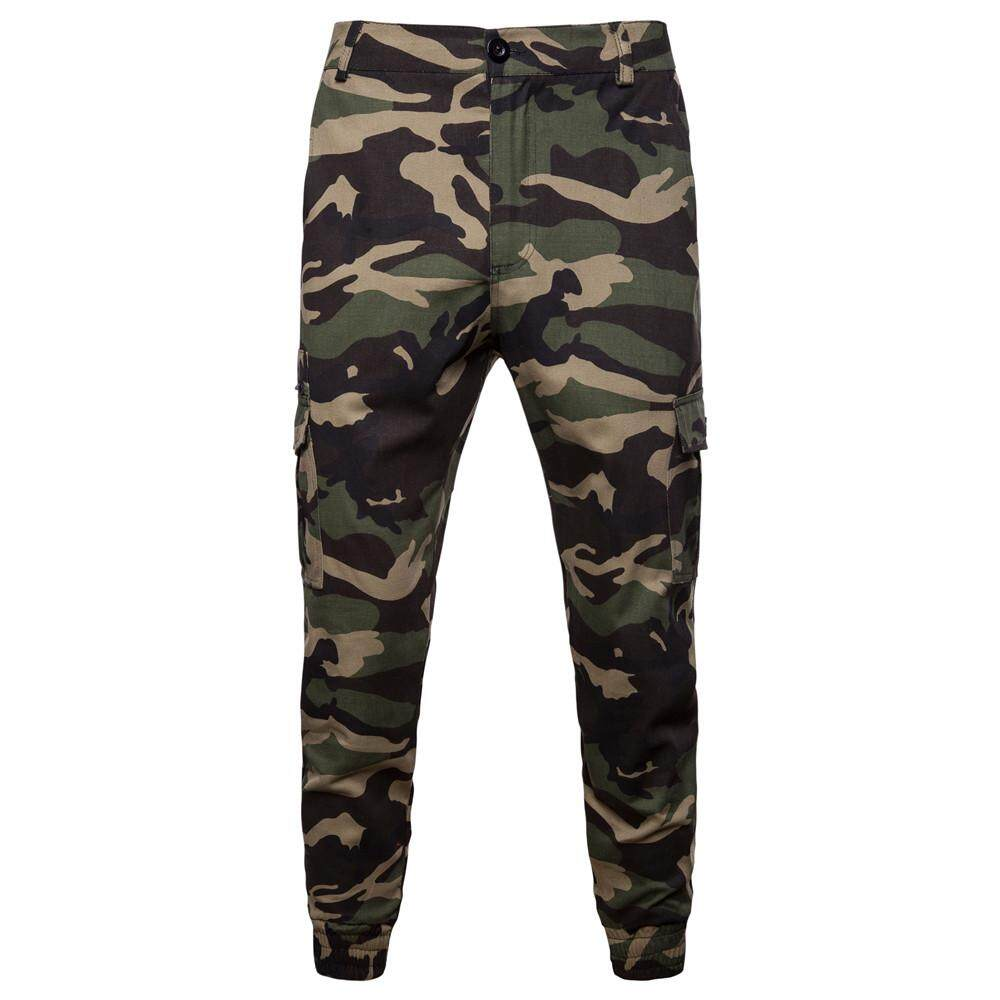 9205dbec066 China. Camouflage Male Pants Military Cargo Pants for Men Trousers Slim fit  Army Green