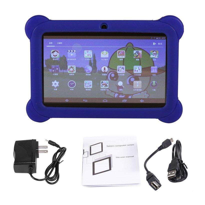 "CELE Q88 7"" Children Tablet 512MB+4GB Quad Core Dual Camera Android 4.4 Tablet PC"
