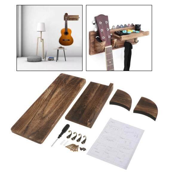 Âm Thanh Kỳ Diệu Vintage Tường Gỗ Gắn Guitar Chủ Giá Bày Hàng Giá Kệ Treo Tường