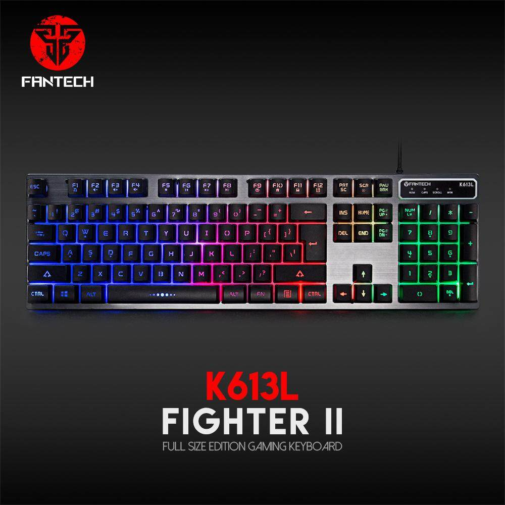 Fantech K613L Professional Usb Gaming Backlit Keyboard 104-Key Wire Malaysia