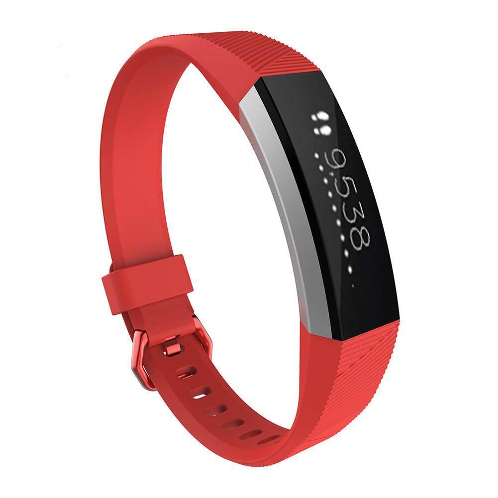 Silikon Pengganti Gesper Gelang Gelang Jam Tali untuk Fitbit Alta HR S/L