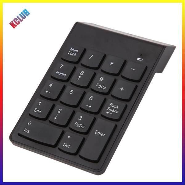 Mini Bluetooth Numeric Keypad Wireless Number Pad 18 Keys Keyboard for PC Singapore