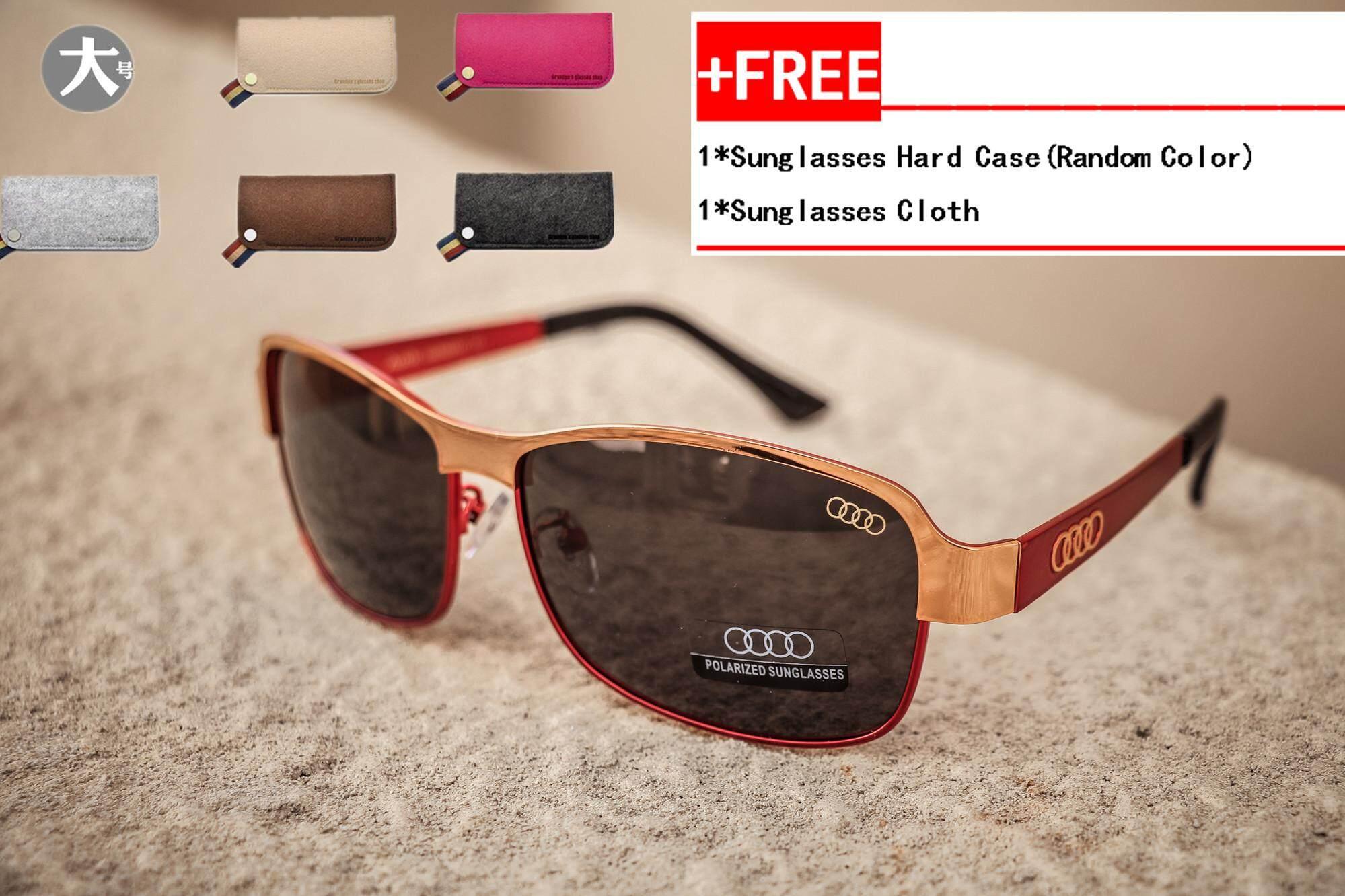 6ed6eebf8c Audi 554 Original Men Luxury Polarized UV400 Fashion Sunglasses