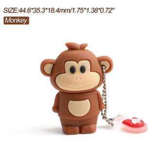 USB 2.0 12 ราศีจีน 64G การ์ตูนสัตว์น่ารักรุ่น-