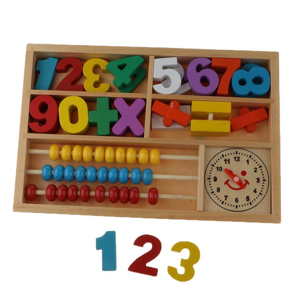 BolehDeals Number Counting Toy Mathematics Colors Early Education Toy for Kids