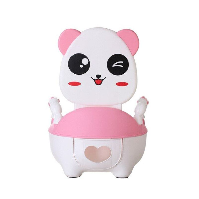 New Child Pot Plastic Cartoon Panda Baby Toilet Training Boy Girls Kids Child Toilet Seat Portable Baby Childrens Potty Chairs Singapore