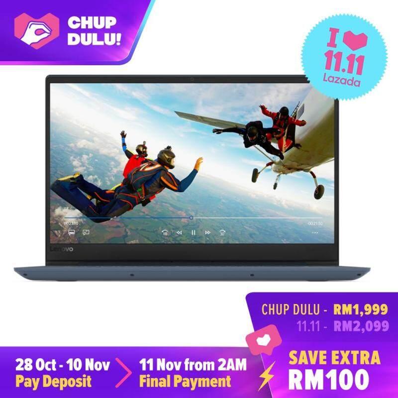 [11.11 CHUP DULU] Lenovo Ideapad 330S-15IKB 81F501G2MJ 15.6 FHD Laptop Midnight Blue (i5-8250U 4GB 1TB R540 2GB W10) Malaysia