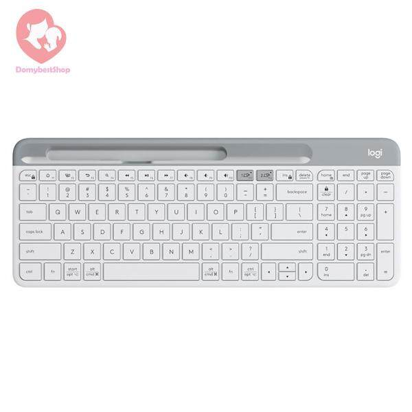 K580 2.4G Wireless Ultra-thin Office Keyboard Unifying Bluetooth Dual Mode Singapore