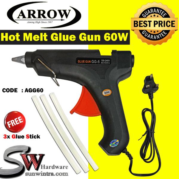 Arrow 60W Hot Melt Glue Gun (BIG) #AGG60