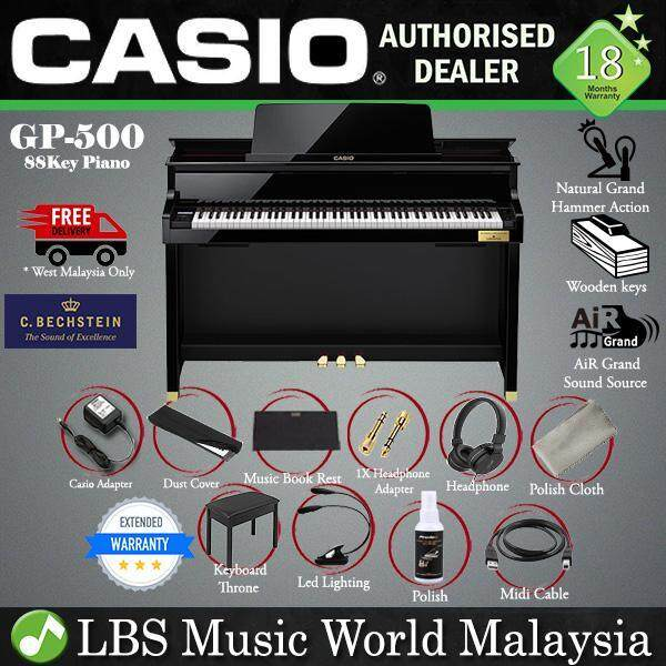 Casio GP-500 88 Key CELVIANO Grand Hybrid Digital Piano Black (GP500 GP 500) Malaysia