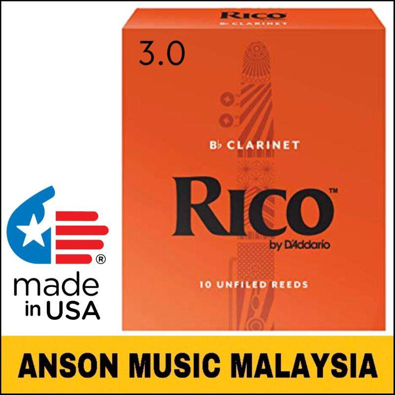 Rico by DAddario B♭ Clarinet Reed, Strength 3.0 Malaysia