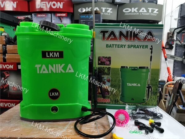 Tanika 16litre Battery Sprayer Pump/Penyembur Racun Bateri 16L